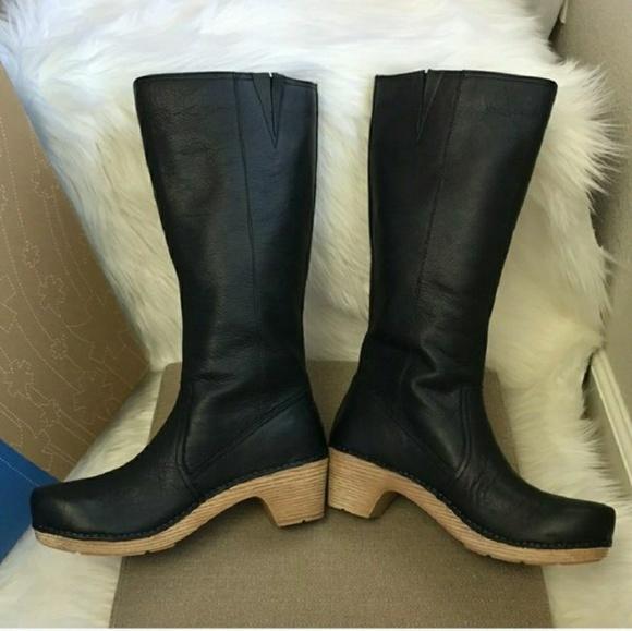 Dansko Martha Leather Boots Sz39